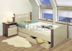 Детская кровать Детская кровать Олмеко с ящиком 1200