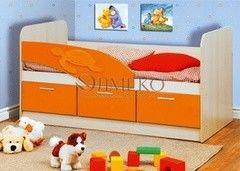 Детская кровать Детская кровать Олмеко 06.224 Черепаха