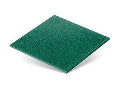 Резиновая плитка Rubtex Плитка 500x500 (толщина 16 мм, зеленая)