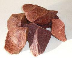 Комплектующие для печей и каминов noname Малиновый кварцит колотый, Карелия (20 кг)