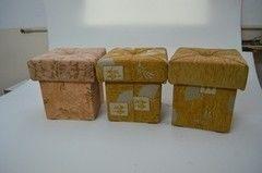 Пуфик Пуфик Вливск-Мебель 35х35х42 см с емкостью для хранения 36