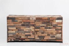 Комод Комод Kare Sideboard Memory Carve 2 Doors 2 Drw