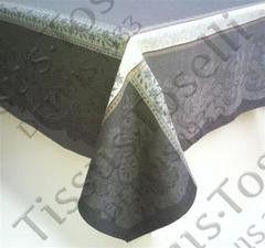Tissus Toselli Скатерть Dentelle Gray 160х300
