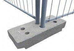 Забор Забор PERIMETR Опора бетонная для мобильного ограждения