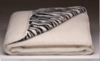 Одеяло Одеяло Lanatex меховое двухстороннее с рисунком 170x205 см