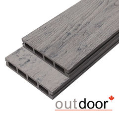 Декинг Декинг Outdoor 3D Arizona Grey ДПК 150x25x4000 (серая)