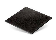 Резиновая плитка Rubtex Плитка 500x500 (толщина 40 мм, черная)