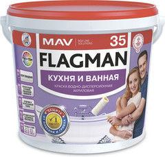 Краска Краска Flagman (MAV) 35 кухня и ванная (5л)