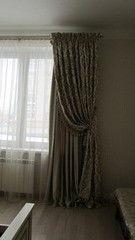 Штора, гардина Окно в интерьере Вариант 23