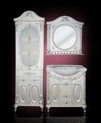 Мебель для ванной комнаты Атолл Наполеон белый жемчуг