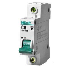 DEKraft Автоматический выключатель ВА101-1P-006A-C (11052DEK)