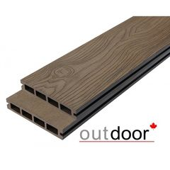 Декинг Декинг Outdoor 3D Storm/Old Wood Ocean Brown ДПК 140x21x2900 (темно-коричневая)