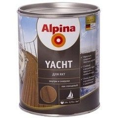 Лак Лак Alpina Yacht (глянцевый) 10 л