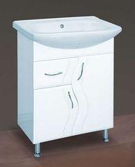 Мебель для ванной комнаты MISTY Тумба с раковиной Лагуна 65 (1 ящик)