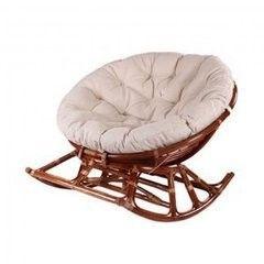 Кресло из ротанга Calamus Rattan Papasan 23/01D (шоколад)