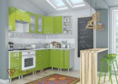 Кухня Кухня SV-Мебель Модерн Олива (угловая)