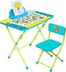 Детский стол Nika Пушистая азбука (арт. КУ2/ПА)