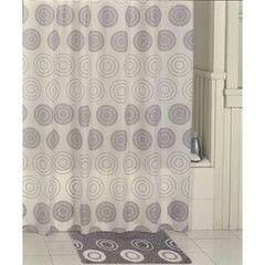 Iddis Штора для ванной комнаты Chequers Silver 431P20RI11