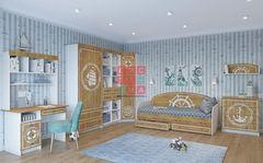 Детская комната Детская комната Система Юнга с кушеткой №1