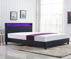 Кровать Кровать Halmar Arda 160 (темно-серый)