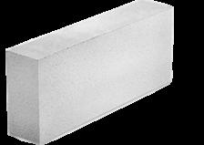 Блок строительный SLS Group КварцМелПром из ячеистого бетона 625х100х249 D500-В2,0(2,5;3,5)-F35
