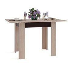 Обеденный стол Обеденный стол Сокол-Мебель СО-1 (беленый дуб/венге)