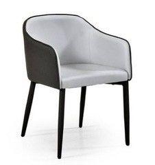 Кухонный стул Кухонное кресло Halmar Shift (темно-серый/светло-серый)