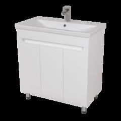Мебель для ванной комнаты Аква Родос Тумба с умывальником Омега 80