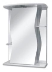 Мебель для ванной комнаты Фабрика Кветка Шкаф зеркальный Лилия 55