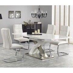 Обеденный стол Обеденный стол Halmar Sandor-2 белый