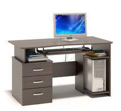 Письменный стол Сокол-Мебель КСТ-08.1В (венге)