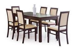 Обеденный стол Обеденный стол Halmar Ernest-2 160 (темный орех)