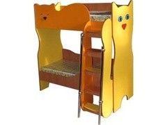 Двухъярусная кровать Поставымебель КРДМ-07М (котята)