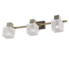 Настенно-потолочный светильник IDlamp Velia 362/3A-Oldbronze