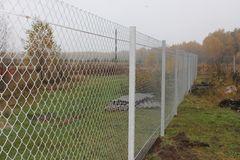 Забор Забор Арми-Тех Забор из сетки-рабица высота 1.7м