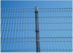 Забор Забор Асвик Столб из профильной трубы 61x35