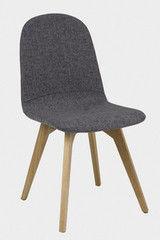 Кухонный стул Signal Ares (дуб/серый)