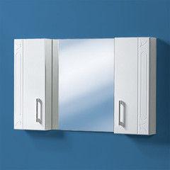 Мебель для ванной комнаты Акваль Зеркальная полка Лорен 86