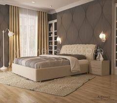 Кровать Кровать УЮТ Афина 100x200 (Velvet Lux 46)