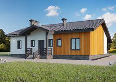 Лучший дом Проект дома М071314