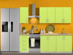 Кухня Кухня Анмикс Гретта зеленый лайм 1600
