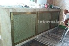 Экран для радиаторов Interno.by Решетка 2