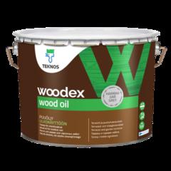 Защитный состав Защитный состав Teknos Woodex Wood Oil (9 л) серый