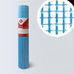 Стеклосетка, серпянка Lihtar Штукатурная синяя Prorab (яч.5x5мм, 1x50м)