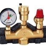 Комплектующие для систем водоснабжения и отопления Meibes Группа безопасности котла тип К