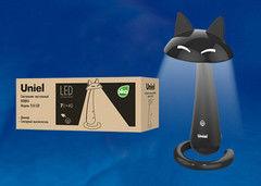 Настольный светильник Uniel TLD-532 Black/LED/360Lm/4500K/Dimmer
