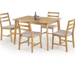 Обеденный стол Обеденный стол Halmar Cordoba (стол + 4 стула) дуб