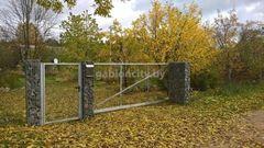 GabionCity Ворота откатные из панелей 3Д