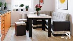 Кухонный уголок, диван ТриЯ Скамья угловая «Оскар» (с 2-мя подлокотниками)