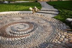 Натуральный камень Натуральный камень GabionCity Галька речная округлая разноотеночная